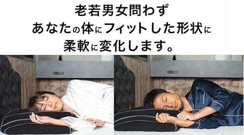 横向き寝専用まくら【YOKONE3】