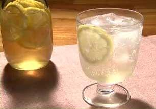 レモン酢 炭酸水