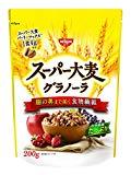 日清シスコのスーパー大麦グラノーラ