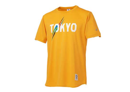 アシックス 東京オリンピック公式ライセンス商品 Tシャツ