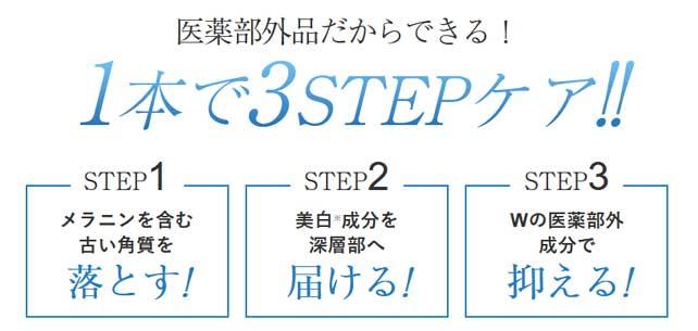 シミニー3ステップシミケア