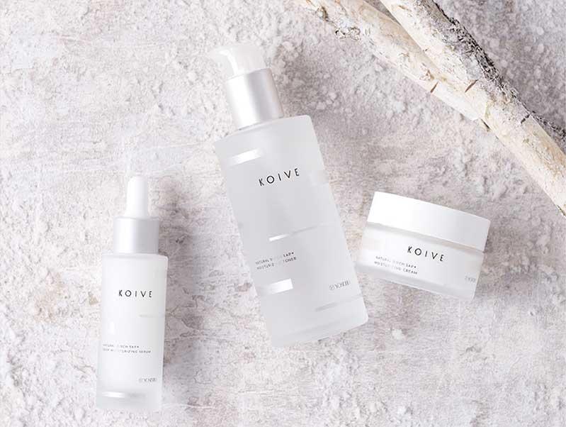 白樺樹液化粧品「KOIVE-コイヴ」
