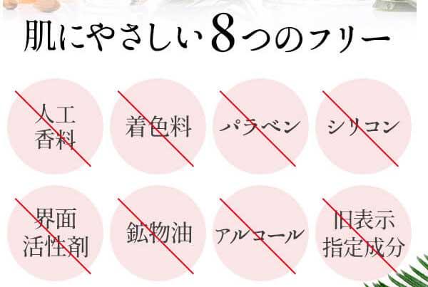 8つのフリー処方