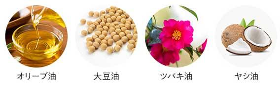 11種の植物オイル