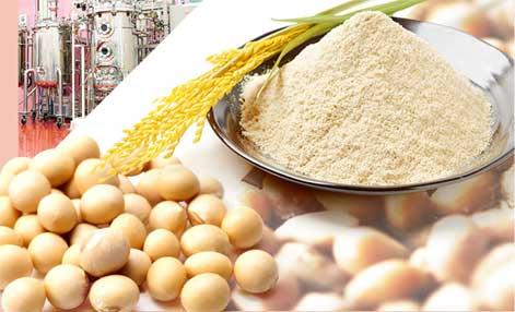 米ぬかと大豆エキスを納豆菌で発酵させた美容成分